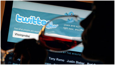 Using social media to market wines